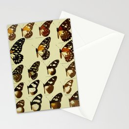 Vintage Butterfly Print - African Mimetic Butterflies (1910) - Eastern Dotted Border & Mimics Stationery Cards