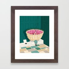Johns Hopkins Privy Framed Art Print