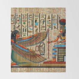 Egyptian - Isis Throw Blanket