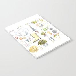 Gardening Tools Notebook
