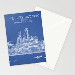 The Belafonte Blueprint Stationery Cards