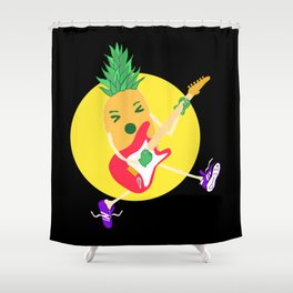 Punk Ananas Shower Curtain