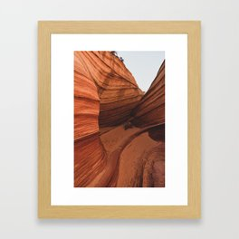 The Wave Enclave Framed Art Print