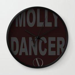 Molly Dancer Wall Clock