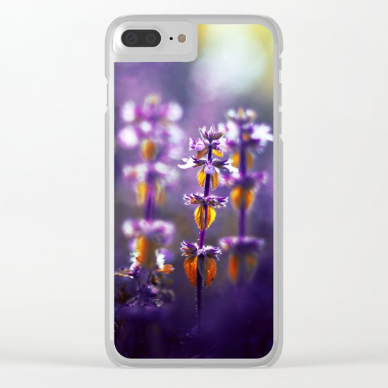 Over the Gold and Hills Clear iPhone Case