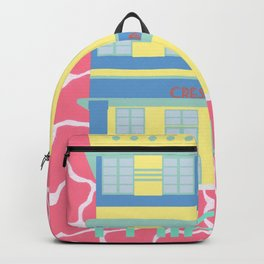 Miami Landmarks - Crescent Backpack