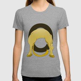 Pony Monogram Letter O T-shirt