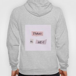 thank you next - Ariana - white Hoody