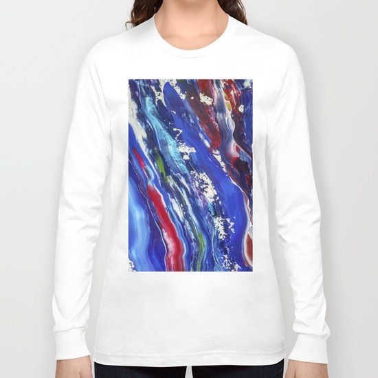 Abstract painting 11 Long Sleeve T-shirt