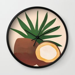 Cocconut Wall Clock
