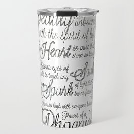 Phoenix Series, Poem in English (Part 2 0f 3) Travel Mug