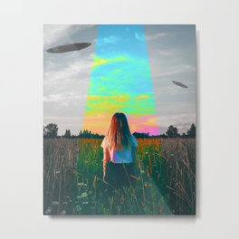 Abduction Day Metal Print