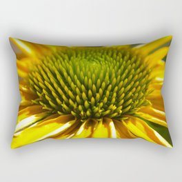 Bright Coneflower Rectangular Pillow
