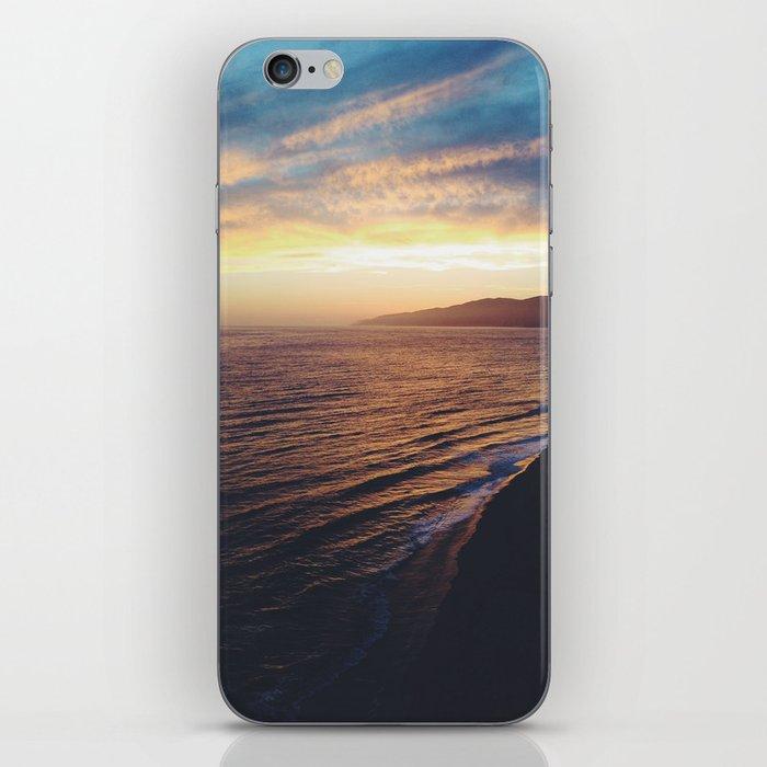 Point Dume Sunset iPhone Skin