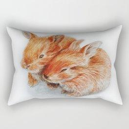 Every bunny needs some bunny Rectangular Pillow