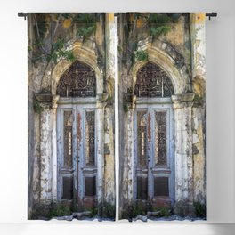 Derelict Doorway Blackout Curtain
