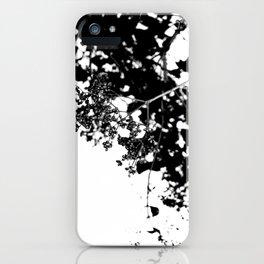 Black Tree iPhone Case