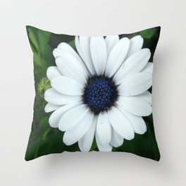 White African Daisy Tapestry Print Throw Pillow