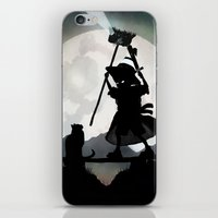 gandalf iPhone & iPod Skins featuring Gandalf Kid by Andy Fairhurst Art