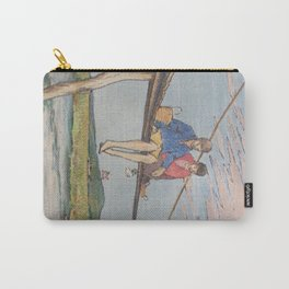 Dropping flowers in the stream Carry-All Pouch