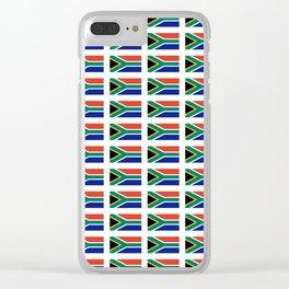 flag south africa 2,  African,Afrikaans,Mandela,apartheid, Johannesburg,Soweto,Pretoria,Durban,Tembi Clear iPhone Case