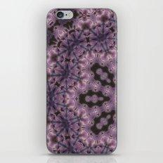 Batik purple iPhone & iPod Skin