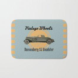 Vintage Wheels: Duesenberg SJ Roadster Bath Mat