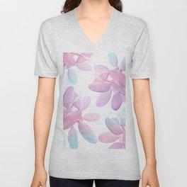 Unicorn Cacti Vibes #1 #pastel #pattern #decor #art #society6 Unisex V-Neck