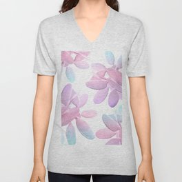 Unicorn Cacti Vibes #1 #pastel #pattern #decor #art #society6 Unisex V-Neck