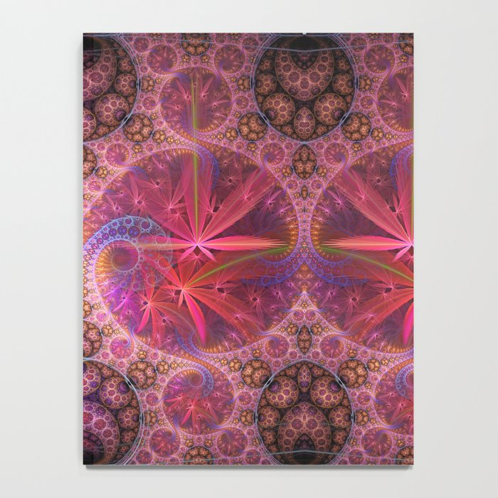 Decorative artwork with amazing curls, swirls and patterns Notebook