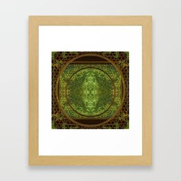 Concentricity Framed Art Print