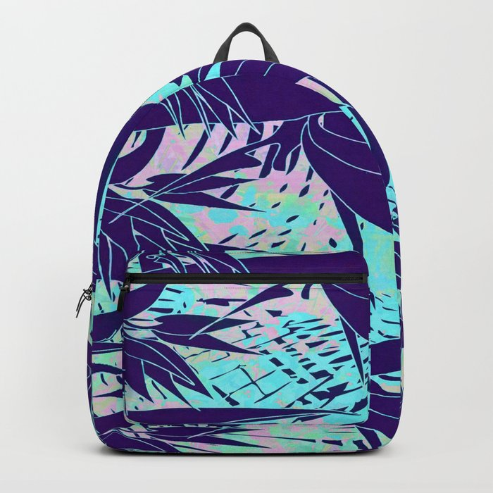 purple birds of paradise Backpack