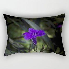Violet flowers Rectangular Pillow