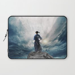 The Sword of Kaigen by M. L. Wang - Cover Art Laptop Sleeve