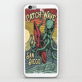 Catch the Wave iPhone Skin