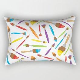 Artist Neck Gaiter Paint Painter Art Neck Gator Rectangular Pillow