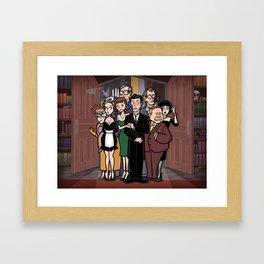 It's a Clue! Framed Art Print