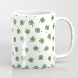 Light Green Clover Coffee Mug