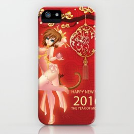 Year of the Fire Monkey iPhone Case
