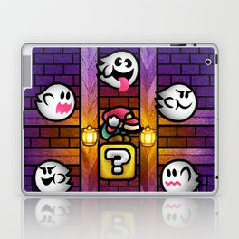 Boos in the Haunted House Laptop & iPad Skin