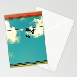 On a Wire Stationery Cards