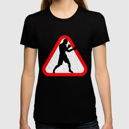 Attention Boxer T-shirt