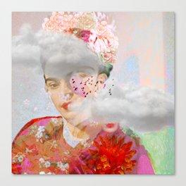 The essence of Frida Canvas Print