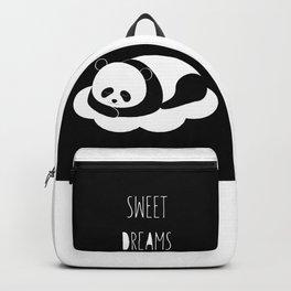 Sweet dreams with panda Backpack