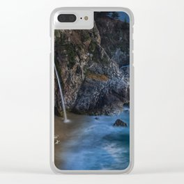 Cove Nightscape Clear iPhone Case