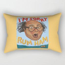 Rum Ham Rectangular Pillow