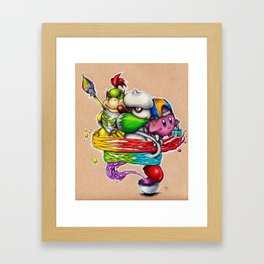 Color Squad Framed Art Print