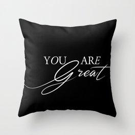 Reminder Throw Pillow