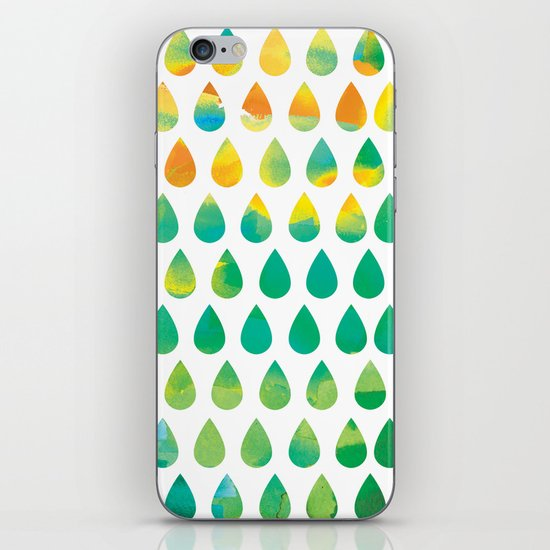Monsoon Rain iPhone & iPod Skin