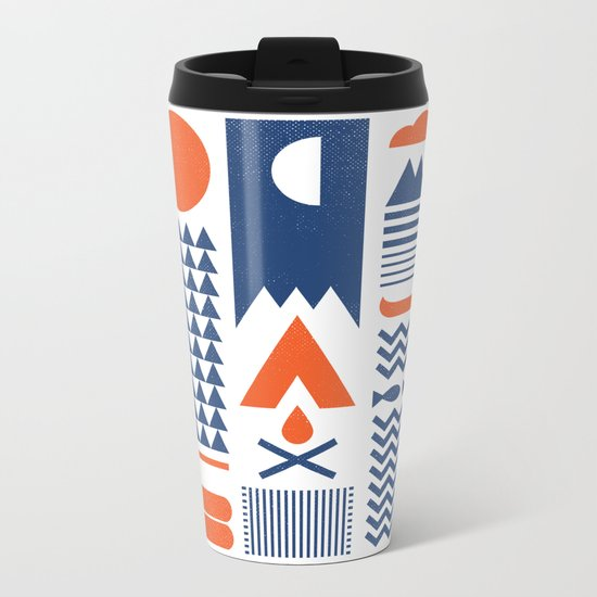 Simplify Metal Travel Mug